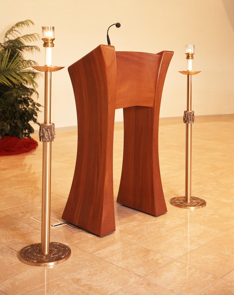 St Mary Immaculate Ambo Michael Colca Custom Furniture