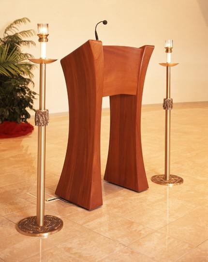 St Mary Immaculate Ambo Michael Colca Custom Furniture Maker Austin Texas